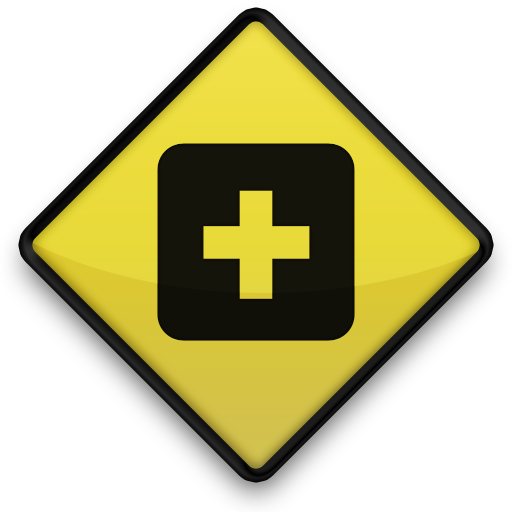 netvibes, sign, square icon