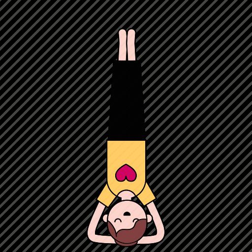 healthy, meditation, yoga icon