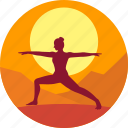 exercise, fitness, health, india, levitation, meditation icon