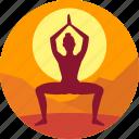 exercise, health, meditation, morning, yoga