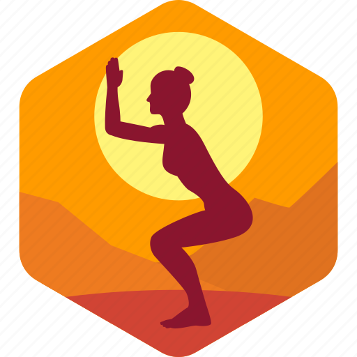 female, fitness, health, india, meditation, yoga icon