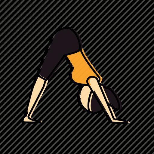 dog, downward, meditation, namaskar, pose, suriya, yoga icon