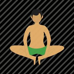 activity, angle, bound, exercise, pose, side, yoga icon