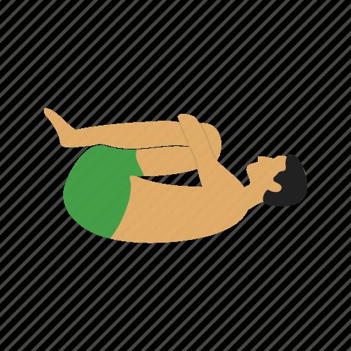 exercise, fitness, knee, pose, press, training, yoga icon