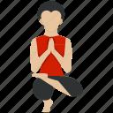 bodybuilding, exercise, fitness, health, training, yoga icon