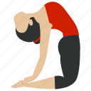 bodybuilding, exercise, fitness, gym, meditation, training, yoga icon