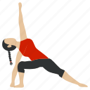 exercise, fitness, gym, meditation, training, yoga, yogaexercise icon