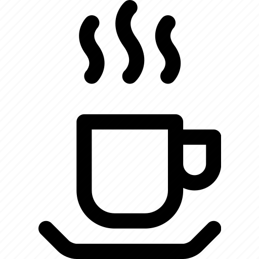 beverage, coffee, cup, drink, hot, mug, saucer icon