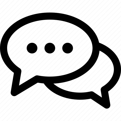 chat, conversation, dialogue, message, speech, text icon