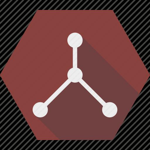 fork, network, node, share, split, version icon