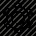 basic, gear, setting, ui icon