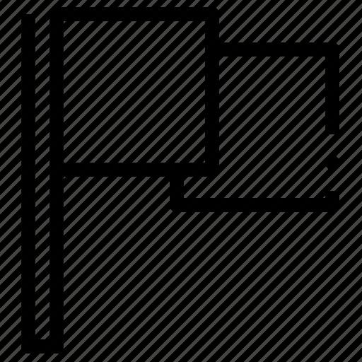 basic, flag, ui icon