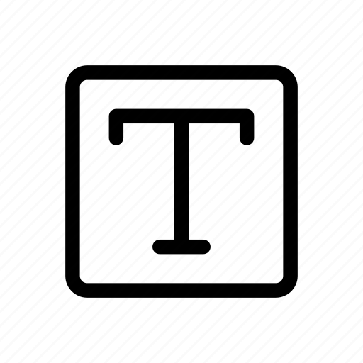 Font, text, typography icon - Download on Iconfinder