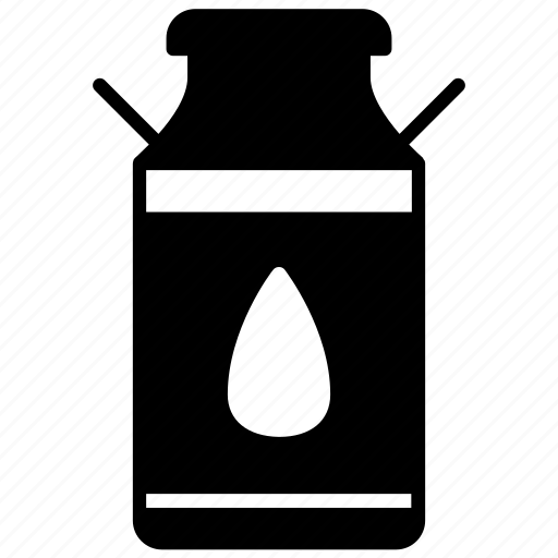 bottle, drop, farm, jar, milk, water, yumminky icon