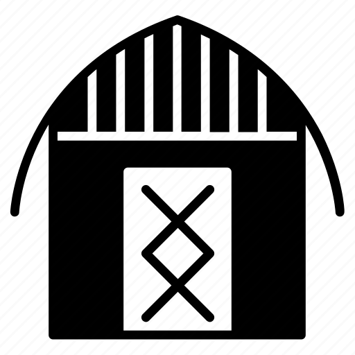 barn, farm, house, selter, shed, storage, yumminky icon