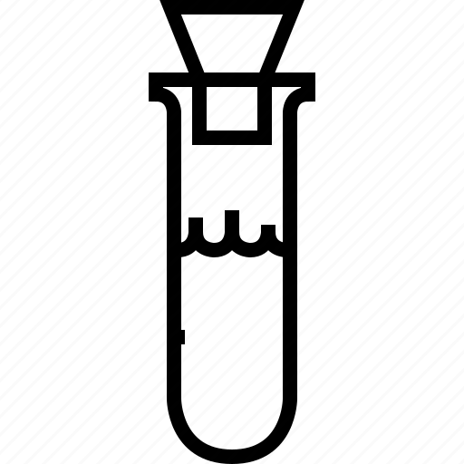 lab, laboratory, medical, research, science, test-tube, yumminky icon