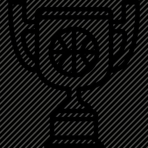 basketball, cup, prize, sport, trophy, winner, yumminky icon