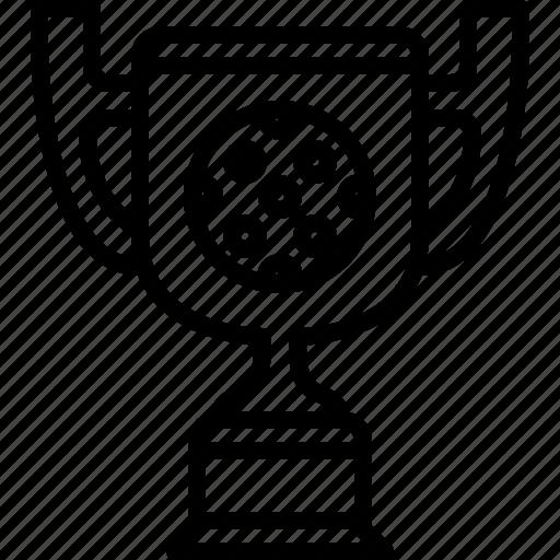 cup, golf, prize, sport, trophy, winner, yumminky icon