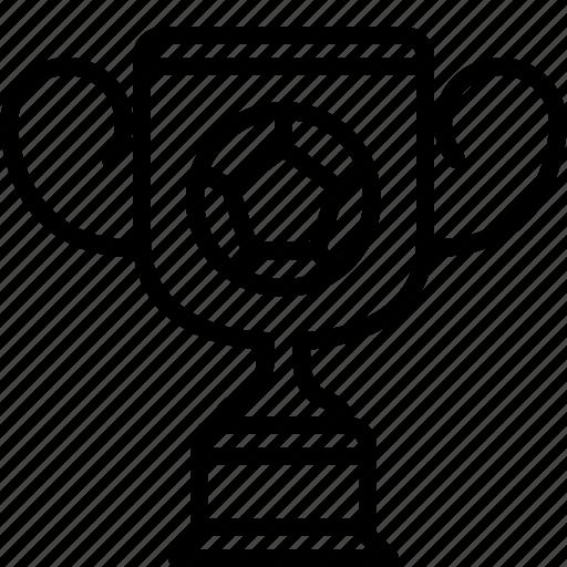 cup, football, prize, sport, trophy, winner, yumminky icon