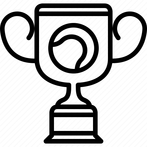 cup, sport, tennis, trophy, wimbledon, winner, yumminky icon