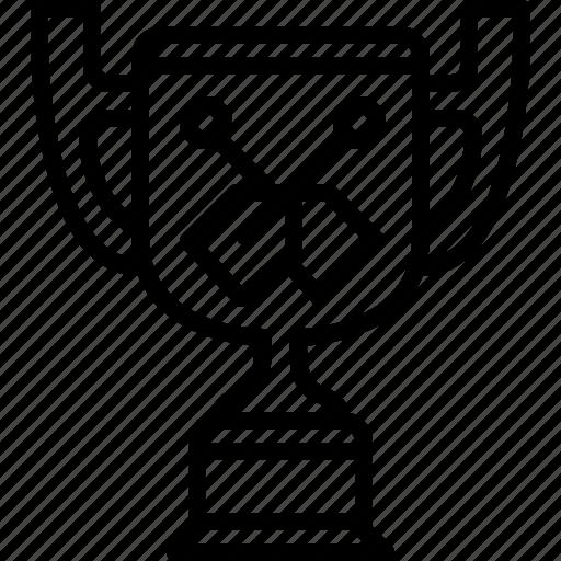 cup, kayak, rafting, sport, trophy, winner, yumminky icon