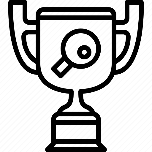 cup, ping pong, prize, sport, trophy, winner, yumminky icon