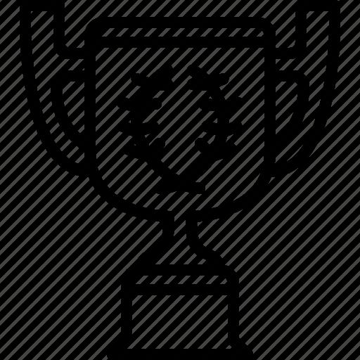 best, cup, prize, sport, trophy, winner, yumminky icon