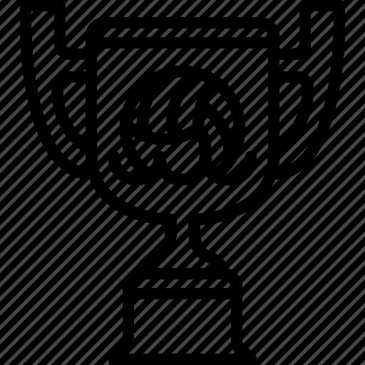 cup, prize, sport, trophy, water polo, winner, yumminky icon