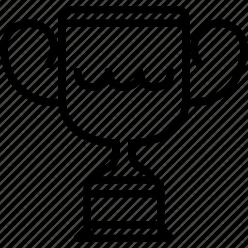 cup, prize, sport, swimming, trophy, winner, yumminky icon