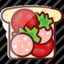 blt, delicious, fastfood, food, junk food