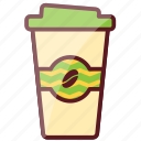 coffee, delicious, fastfood, food, junk food, takeaway icon