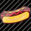 delicious, fastfood, food, hotdog, junk food