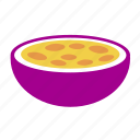 food, fruit, maracuja, passion fruit icon