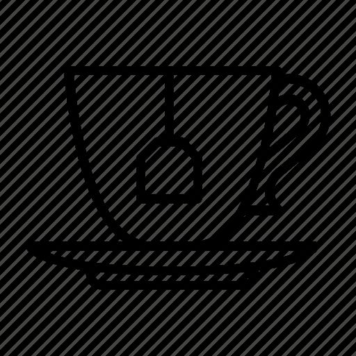 cup, drink, restaurant, tea, tea house, tearoom, yummy icon