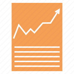 business, business plan, chart, document, irr, npv icon