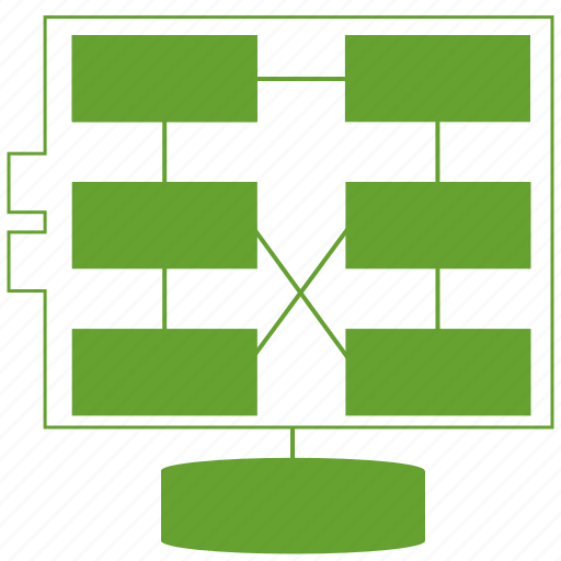 architectual model, chart, design, diagram, graph, system, zachman icon