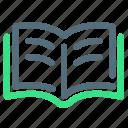 book, read icon