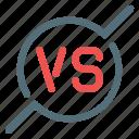 versus, vs icon