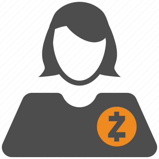 Account Avatar Crypto Cryptocurrency User Zcash Icon