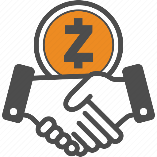 Contract Crypto Cryptocurrency Deal Hand Zcash Icon