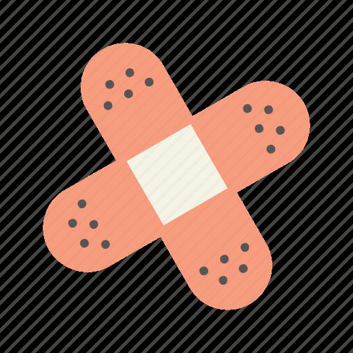 bandage, bandaid, care, fix, heal, health, repair icon