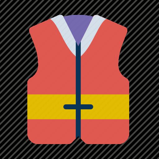 jacket, life, lifeguard, s icon