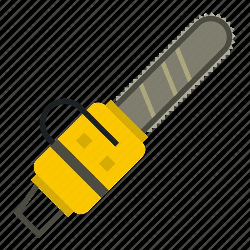 chain, chainsaw, equipment, industry, machine, saw, tool icon