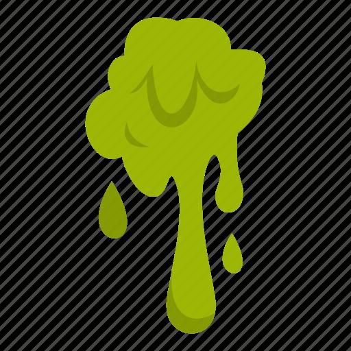 blob, mucus, slime, splash, splat, spot, zombie icon