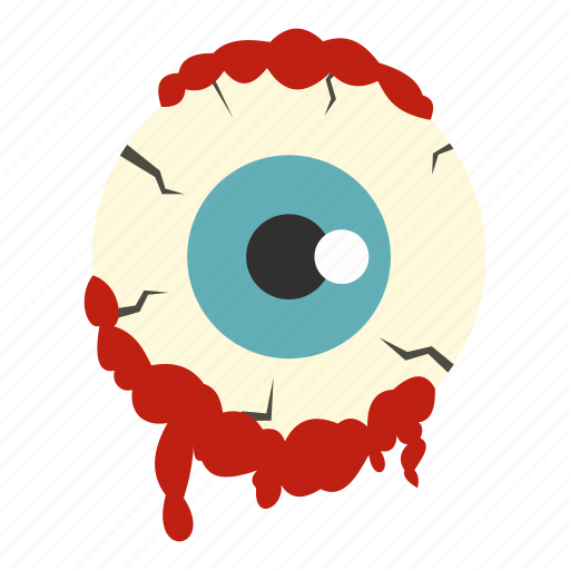 evil, eye, halloween, horror, monster, scary, zombie icon