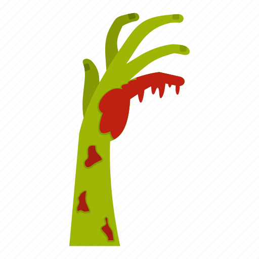 blood, creepy, evil, hand, scary, spooky, zombie icon