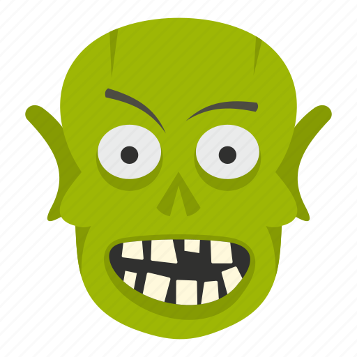 evil, halloween, horror, monster, scary, skull, zombie icon