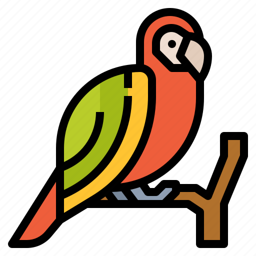 Animal, parrot, wildlife, zoo icon - Download on Iconfinder