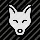fox, animal, forest, zoo, wild