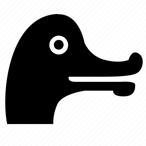 bird, face, head, zoo icon